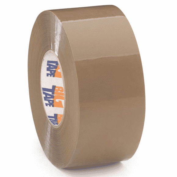 24 Rolls Of LOW NOISE BROWN Packaging Parcel Tape 50mm x 66m