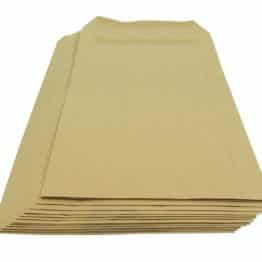 250 x A6//C6 PLEASE DO NOT BEND HARD CARD BOARD BACKED ENVELOPES MANILLA BROWN